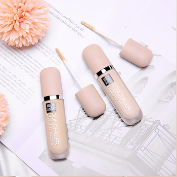 Full Coverage 2 Color Liquid Concealer Makeup Eye Dark Circles Cream Face Corrector Waterproof Long lasting Makeup Base Cosmetic недорого