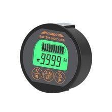 DC 8-120V 50A 100A Tester batteria voltmetro corrente indicatore Monitor capacità batteria amperometro voltmetro misuratore batteria