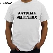 Camiseta masculina verão seleção natural algodão t-shirts homem evolução camiseta moda masculina marca topo camisetas tamanho euro dropshipping