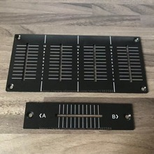 New OEM replacement Plate For DJM800 Channel Fader Panel Replacement Plate DAH2426 DAH2427