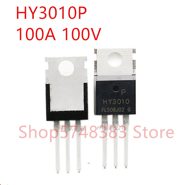 10PCS/LOT 100% new original HY3010P TO-220 HY3010B TO-263 <font><b>HY3010</b></font> 100A 100V image