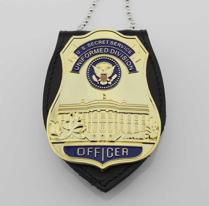 คลาสสิก UNIFORMED DIVISION U.S Secret Service/USSS OFFICER,Replica Prop ภาพยนตร์ Pin Badge