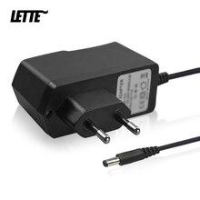Adaptador de corriente CC de 5V y 2A Enchufe europeo y estadounidense, entrada de CA de 90 240V, 100cm, Cable cargador, suministro para conector de 3,5mm x 1,35mm, lector de tarjetas HUB USB