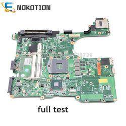 NOKOTION 646962-001 654129-001 płyta główna do HP Probook 6560B 8560P laptopa płyty głównej płyta główna w HM65 ogólnego pozwolenia HD DDR3 pełny test