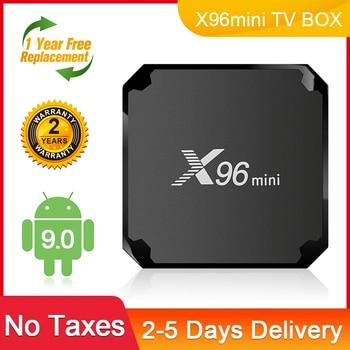 X96mini Smart TV Set Top Box Android 9.0 Amlogic s905w Quad-Core 4K Media player 2.4GHz WIFI 1G8G 2G16G Android box x96 mini