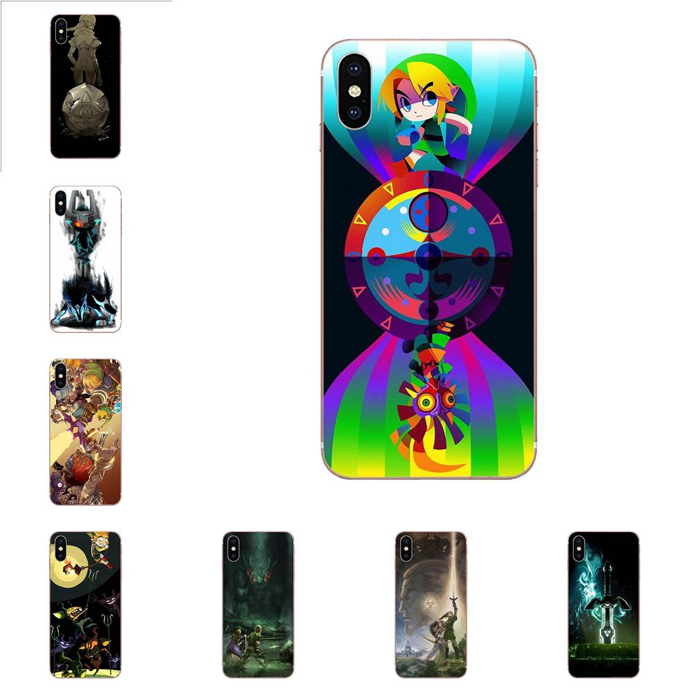 Lovely Plastic Phone Accessories Case Loz Wallpaper For Apple iPhone X XS Max XR 4 4S 5 5C 5S SE 6 6S 7 8 Plus