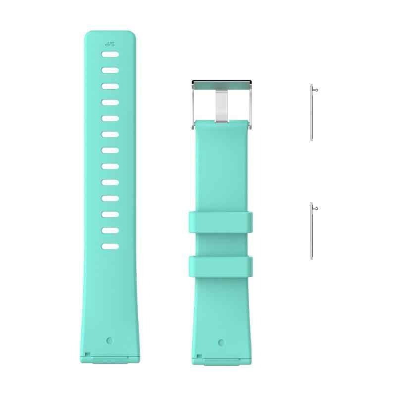 Pulsera de silicona para Fitbit Versa lite/Versa reloj inteligente 1 2 Correa suave brillante para mujer correa de reloj de moda pulsera Correa