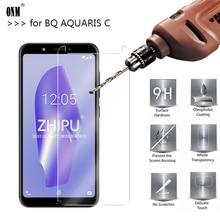 10 Pcs Tempered Glass For BQ Aquaris C Screen Protector 2.5D 9H Premium Protective Film