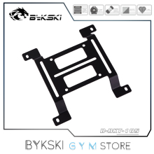 Bykski Mounting Support For Water Cooling Raditor Bracket/ Reservoir Stand/ Pump Holder, 12cm Fan Position Flat Or Convex