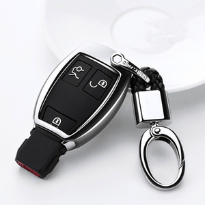 Image 4 - TPU Car Key Case Cover For Mercedes Benz W203 W210 W211 W124 W202 W204 W212 W176 AMG Accessories Keychain Holder Keyring