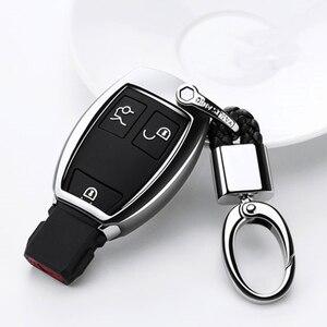 Image 4 - TPU רכב מפתח Case כיסוי עבור מרצדס בנץ W203 W210 W211 W124 W202 W204 W212 W176 AMG אביזרי Keychain מחזיק keyring
