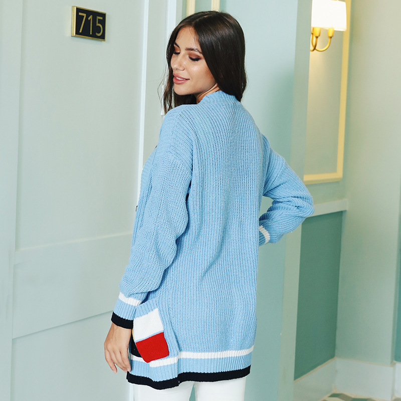 Fashion Women Cardigan Knitwear Women 39 s Autumn Cardigan Sweater Long Sleeve V neck Women Clothes Korean Style Kardigan 2019 New in Cardigans from Women 39 s Clothing