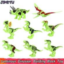 Светящиеся игрушки динозавра для детей Юрского периода тираннозавр