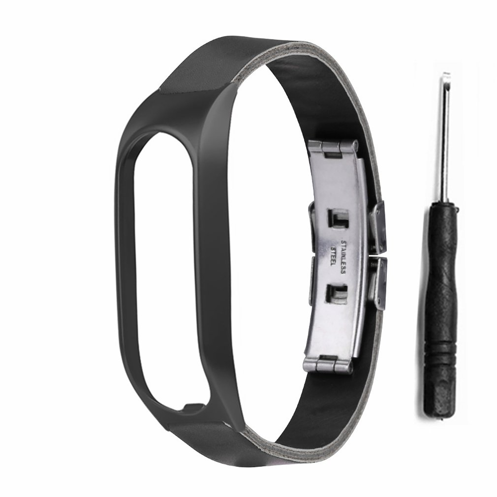 Simple Style Buckle Metal Shell Retro Double Press Butterfly Buckle Diy Replacement Wristband For Tomtom Touch