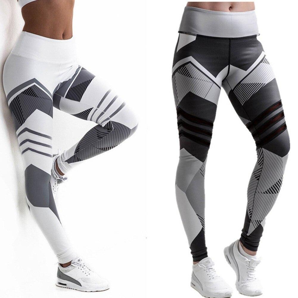 BEFORW 2020 Fashion Polyester Digital Printing Leggings Plus Size Women Sexy Workout Black Leggings Camouflage Camo Pants 9