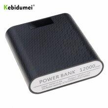 Kebidumei 4X18650 כוח בנק מקרה USB יציאת DIY פגז מקרה תיבת טלפון נייד מטען עם LED DIY תצוגת עבור אנדרואיד iPhone