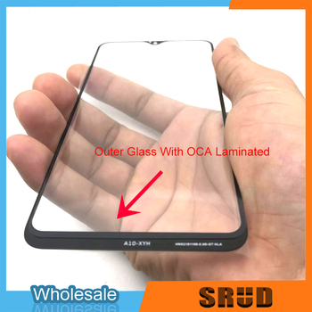 50Pcs/Lot For Samsung Galaxy A10 A20 A30 A40 A50 A60 A70 A80 A90 M10 M20 M30 M40 OCA Laminated Outer Glass