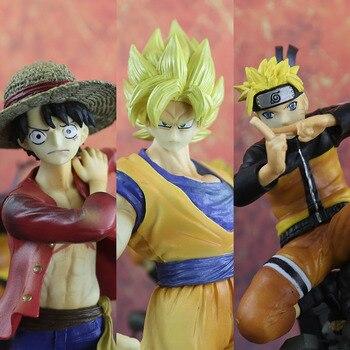 Dragon Ball Action Figure Super Saiyan Kakarotto NARUTO LUFFY Son Gokou Ultra Instinct Ultra Goku Instinct Toy