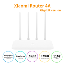WIFI Repeater Routers Xiaomi Antennas Dual-Band 5ghz Wireless APP 4A 2 1167mbps 4-High-Gain