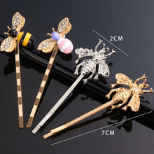 Metal Insect Bee Bobby Pin