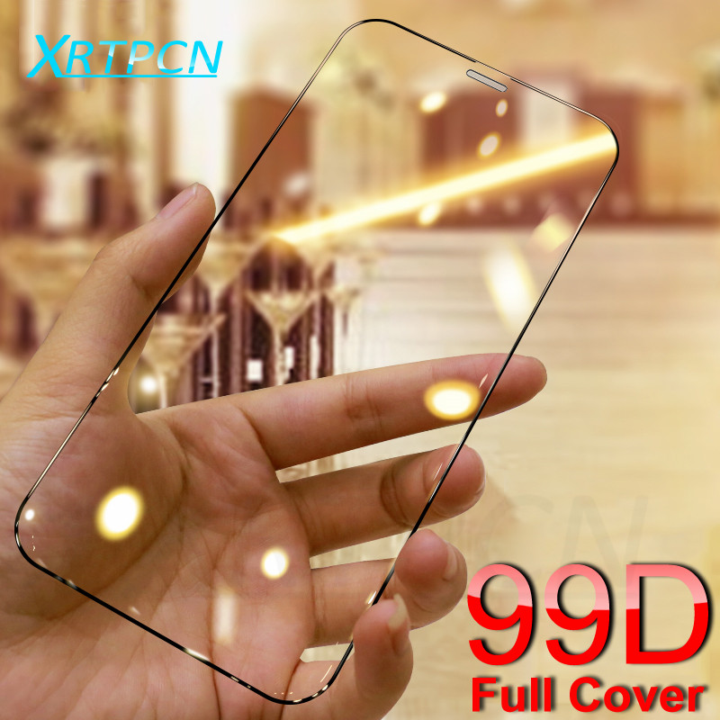 99D Curved Protective Tempered Glass For IPhone 11 Pro Xs Max XR X XS Glass Screen Protector Safety Film On IPhone 7 8 6 6S Plus