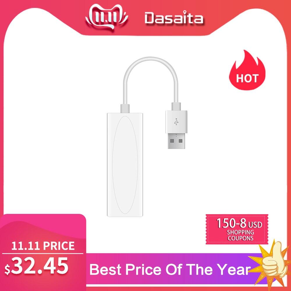 Dasaita Carplay USB dongle for android car navigation gps with smart link Supports iOS Phones