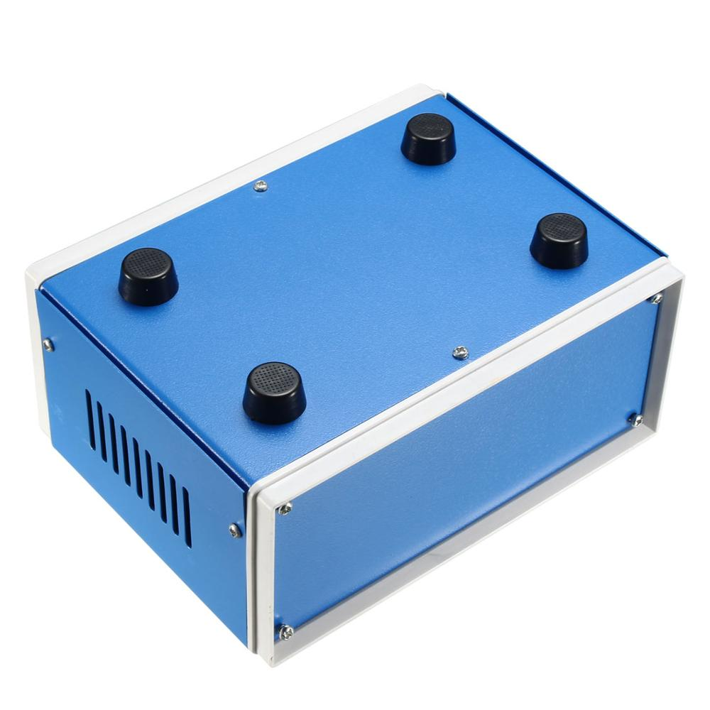 Uxcell Metal Blue Project Junction Box Enclosure Case 210 X 180 X 140mm 170 X 130 X 84mm Electronic Iron DIY Enclosure Box