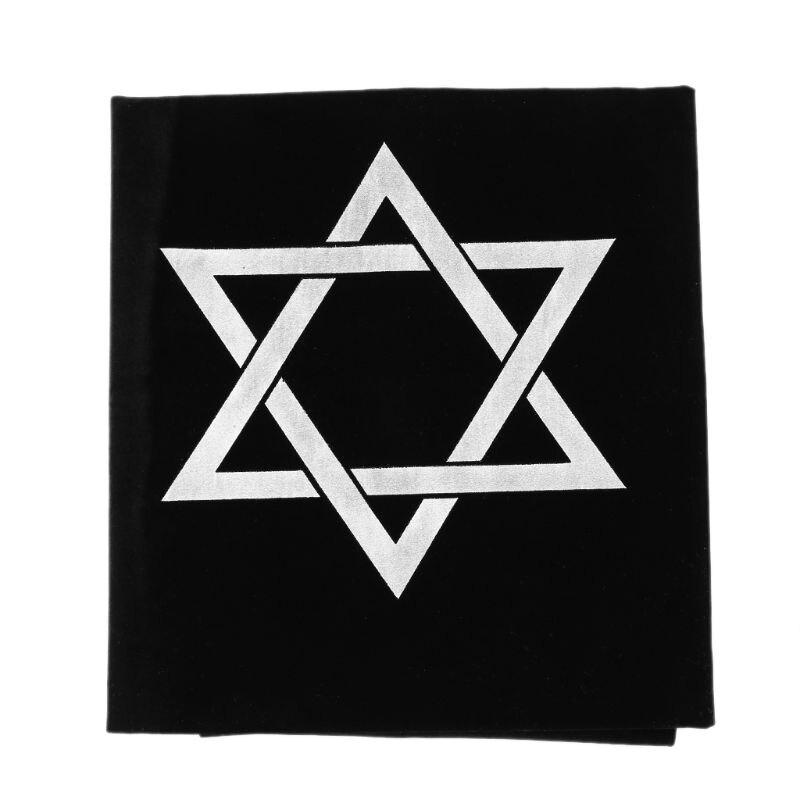 75*75cm Velvet Tarot Tablecloth Hexagon Magic Divination Arsh Board Game Accessories