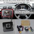 Для Mercedes Benz M ML W164 R W251 2006-2013 GL X164 GL350 GL450 GL500 RCA и оригинальный экран совместимый HD Автомобильная камера заднего вида