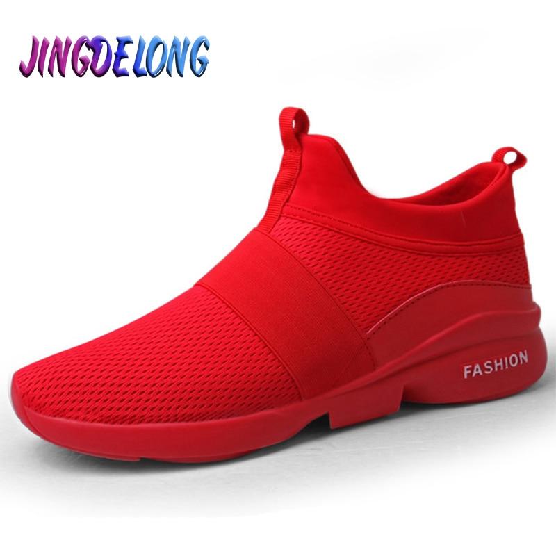 2020 New Fashion Men Casual Shoes Comfortable Breathable Men Sneakers Lightweight Soft Mesh Jogging Mens Shoes Zapatillas Hombre