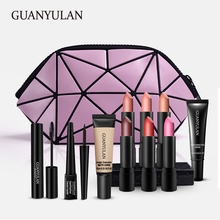 GUANYULAN New Year Surprise Cosmetics Gift Set Daily Use Cosmetics Makeup Sets Make Up Tool Kit Makeup Gift Illuminate Handbag new line cosmetics