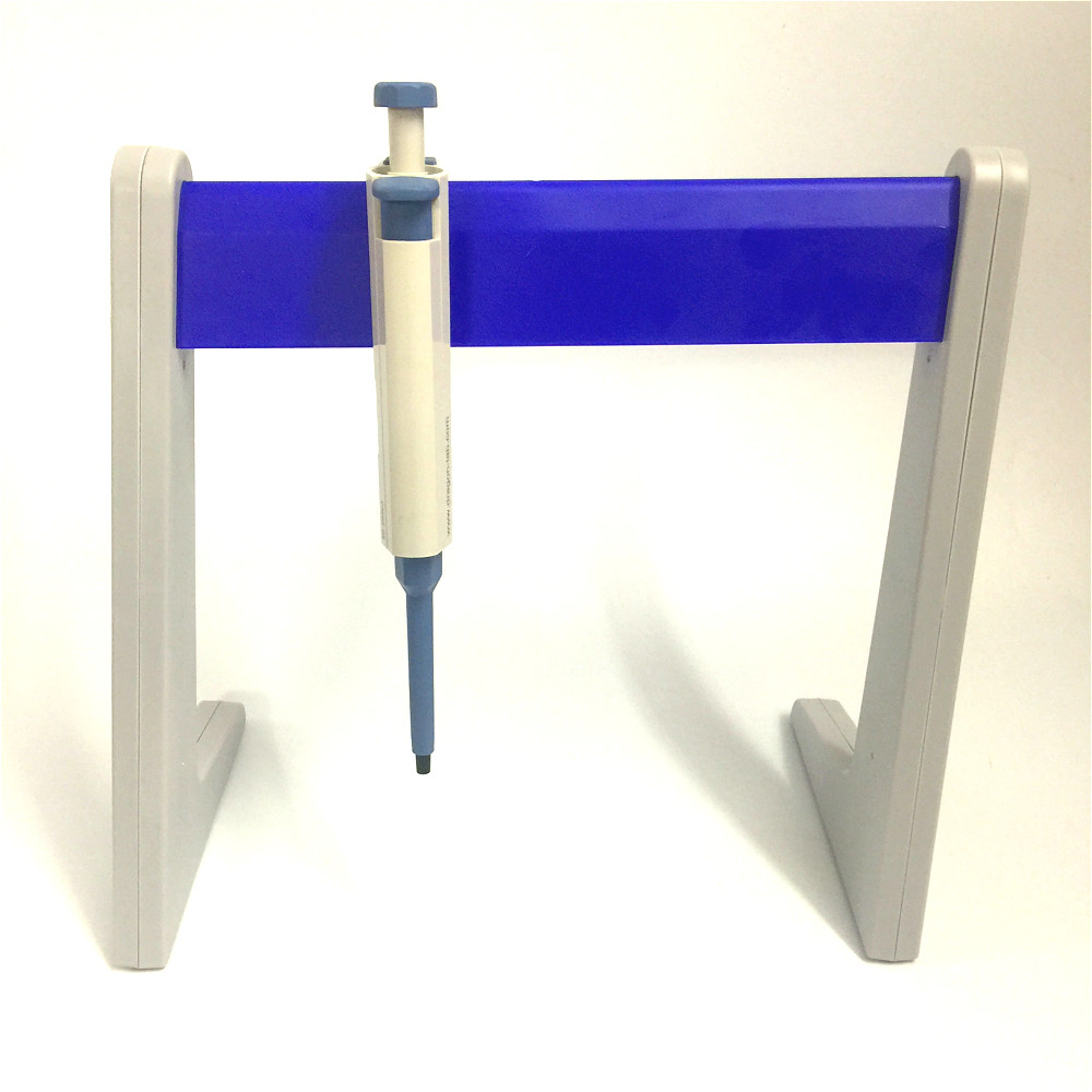 Plastic Pipette Stand Linear Stand Common Use Pipette Rack Pipetting Device Bracket Holds Up To 6 Pipettes