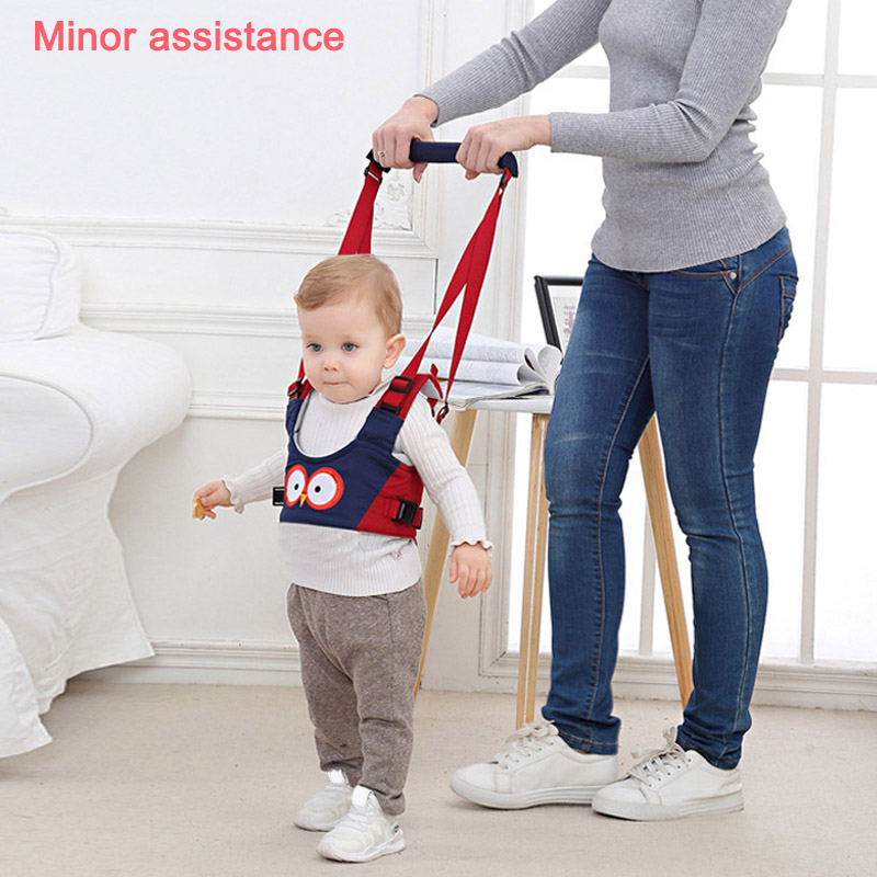 Hot Sale Baby Toddler Walking Assistant Protective Belt Carry Trooper Harness Learning Walk Aid