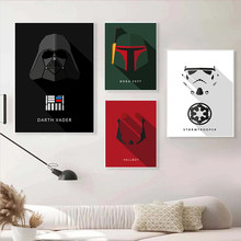 Marvel Comic Star Wars Canvas Painting Character Modling Posters and Print Wall Art Picture for Living Kids Home Room Decoration