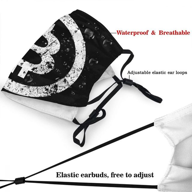 Bitcoin Reusable Adult Mouth Face Mask Crypto Currency  4