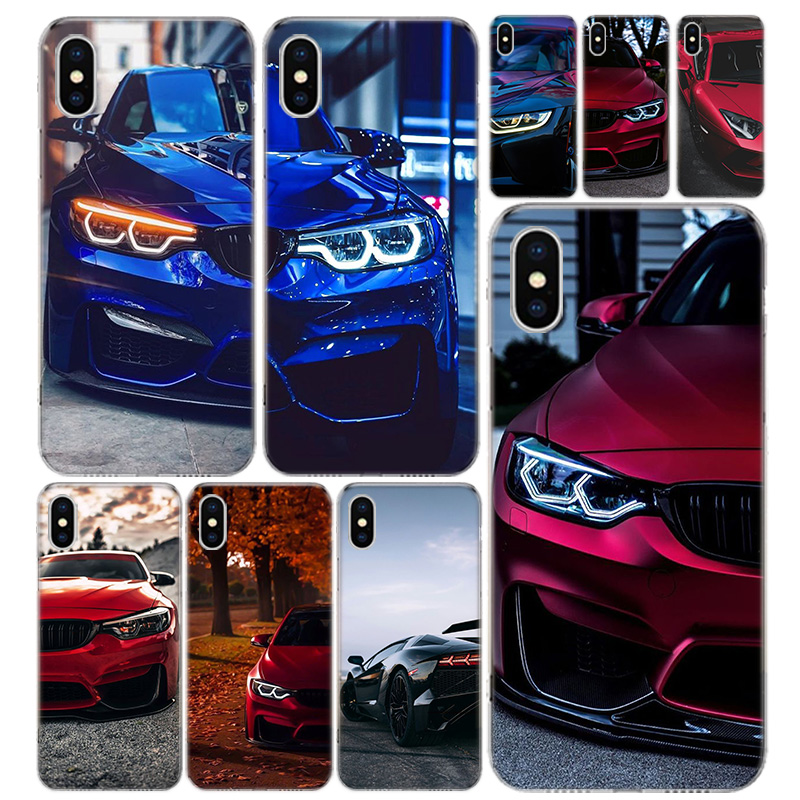 Blue Red for Bmw Phone Case Cover For iPhone 11 Pro 7 6 X 8 6S Plus XS MAX + XR 5S SE 10 Ten Art TPU Coque Capa Shell image
