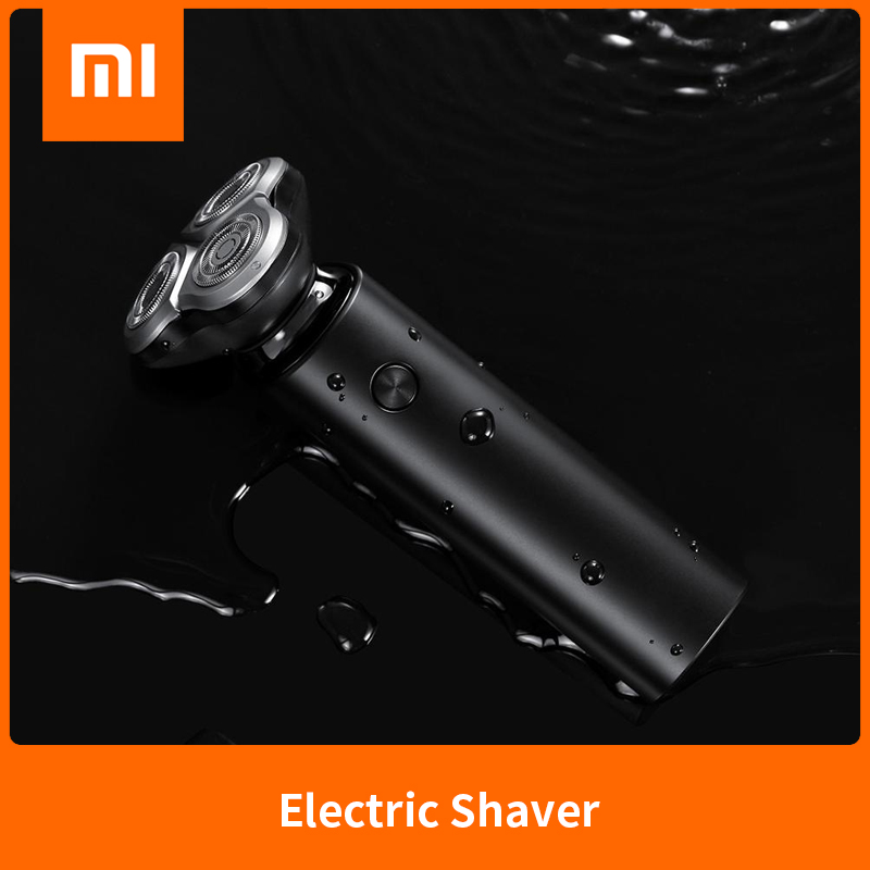 XIAOMI MIJIA Electric Shaver S500 Portable Flex Razor 3 Head Dry Wet Shaving Washable Beard Trimmer Trimer Intelligent Low Noise