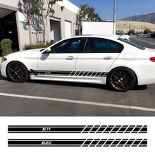 2PCS Auto Tür Seite Streifen Aufkleber Für BMW G30 G20 G01 G02 G05 G06 G07 G08 G11 G12 G14 g15 G16 G21 G31 G32 G38 Auto Zubehör