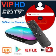 6000 Live Evdtv IPTV HK1 Box Bahasa Portuges Israel Mesir Iran Skandinavia Media Player Swedia Bulgaria India Amerika Serikat HK1 Smart Set top Box(China)