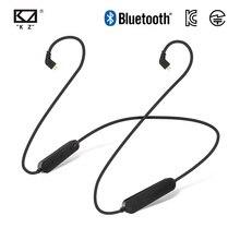 KZ ZSN/ZSN Pro/ZS10 Pro/AS16 กันน้ำ AptX BLUETOOTH 4.2 ไร้สายสายเคเบิลอัพเกรดเดิมหูฟังหูฟัง