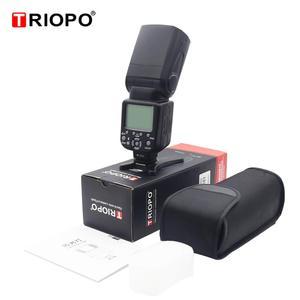 Image 5 - Triopo TR 586EX Wireless Mode TTL Speedlite Speedlight For Canon 5D Nikon D750 D800 D3200 D7100 DSLR Camera as YONGNUO YN 568EX