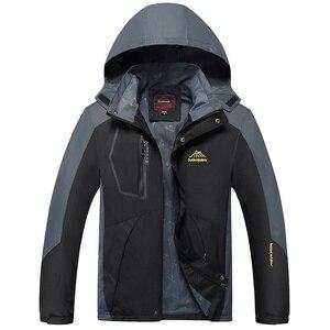 Image 4 - BOLUBAO חדש גברים מעילי מעילי חורף מותג גברים של אופנה מזדמן עבה חם מעיל זכר Windproof עמיד למים חיצוני מעיל
