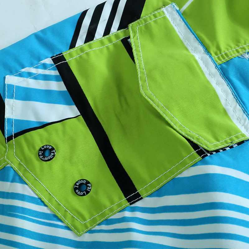 Mannen Strand Shorts Zomer Zwembroek Mannelijke Badmode Snel Droog Ademend Losse Print Elastische Casual Korte Plus Size M-6XL
