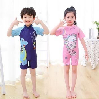 Cartoon jednoczęściowy strój kąpielowy dla dzieci strój kąpielowy dla dzieci stroje kąpielowe dla dzieci stroje kąpielowe dla chłopców i stroje kąpielowe dla dziewcząt maluch strój kąpielowy dziewczyna tanie i dobre opinie hiasnece Pasuje prawda na wymiar weź swój normalny rozmiar Dziewczyny spandex Polyester M(3-4 Years Old) L(5-6 Years Old) XL(7-8) XXL(9-12)