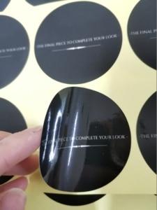 Image 5 - (1,37 дюйма) 35 мм печать на заказ самоклеющиеся наклейки с логотипом этикетки персонализированные наклейки этикетки 500 шт./лот