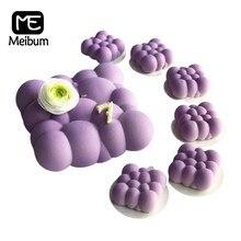 Meibum – moules à gâteau en Silicone, 2 Types, nuages de bonne augure, moules à Mousse antiadhésifs, outils de décoration de Dessert, ustensiles de cuisson de pâtisserie