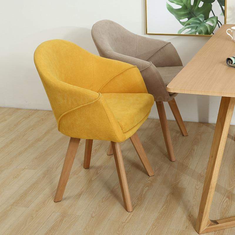 moderne salle a manger chaise maison maquillage chambre accoudoir tissu art doux sac negocier cafe chaise table balcon chaise longue