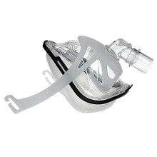 Решите храп маска BMC FM1A полная маска для лица CPAP Bipap машина копд храп и терапия сна соединить лицо и шланг с он