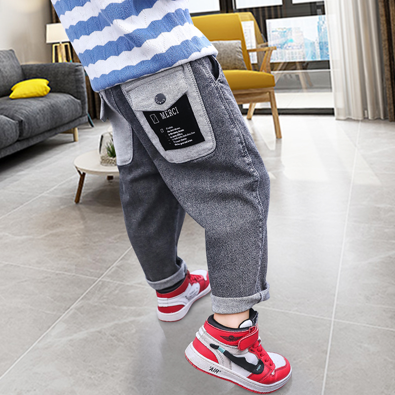 Kids Boys Pants 2020 Spring Children Teenage Casual Trousers Autumn Loose Leggings For Baby Child 4 To 14 Years Old