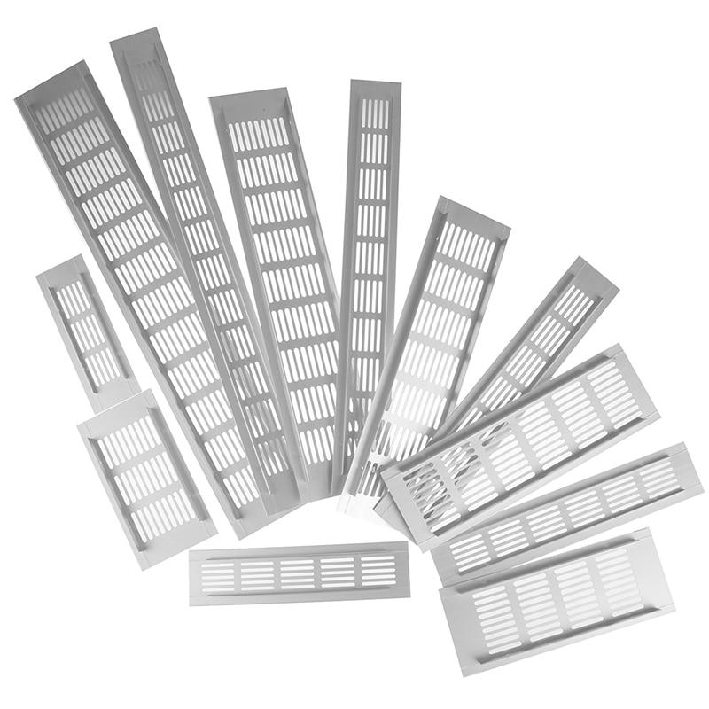 Prese Daria Perforato Copriletto in Lega di Alluminio Air Vent Perforato Copriletto Web Piastra Griglia di Ventilazione Prese Daria Perforato Copriletto
